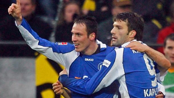 Dortmund tritt auf der Stelle