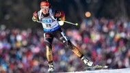 Die schnellste Biathletin in Nove Mesto: Laura Dahlmeier