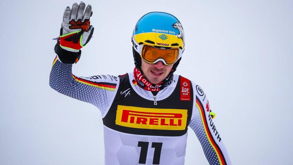 Eine Panne jagt die andere: Felix Neureuther verabschiedet sich von der Slalom-Piste der WM, die ihm kein Glück brachte.