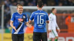 Bielefelder Alm hat noch eigene Pokal-Gesetze