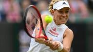 Angelique Kerber hat sich in Wimbledon in einen Rausch gespielt.