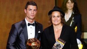 Angerer  und Ronaldo sind die Weltfußballer