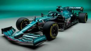 Vettel und der Dienstwagen seiner Majestät