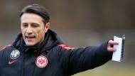 Trainer Niko Kovac weiß um die Schwere seiner Aufgabe in Frankfurt.