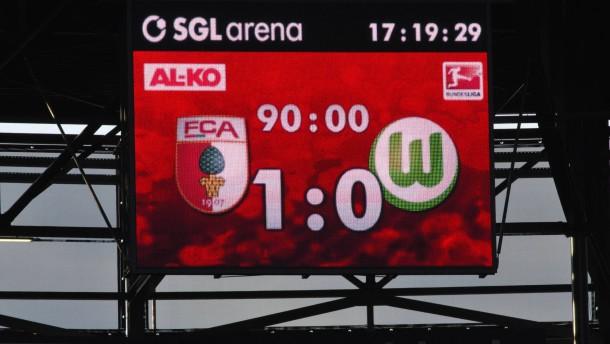 Augsburg spielt den Favoritenschreck