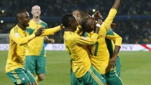 Südafrika bringt den Confed-Cup in Schwung