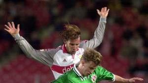 Balakow schießt Stuttgart von den Abstiegsrängen
