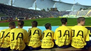 Münchner stimmen für neues Fußballstadion