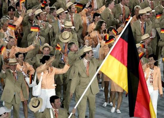 Fahnenträger Olympia 2021 Deutschland