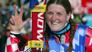 Jana Kostelic schreibt Geschichte: Drittes Gold, Ertl stürzt