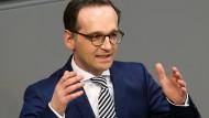 """Bundesjustizminister Heiko Maas: """"In Deutschland wurde seit Jahrzehnten über ein Anti-Doping-Gesetz gestritten. Ich bin froh, dass uns jetzt ein Durchbruch gelungen ist."""""""