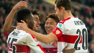 Jubel beim VfB Stuttgart