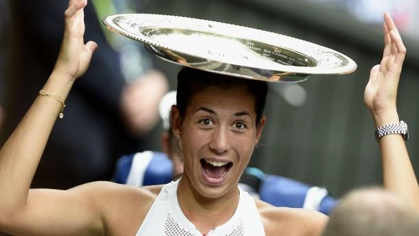 Spanien feiert seine neue Wimbledon-Prinzessin