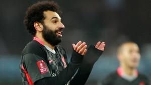 Liverpool mit Mühe gegen Nachwuchsmannschaft