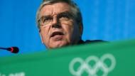 Auch vom Papst geschätzt: Thomas Bach, Präsident des Internationalen Olympischen Komitees.