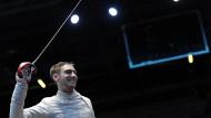 Mit feiner Klinge: Max Hartung war schon Welt- und Europameister mit der deutschen Säbel-Mannschaft