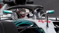 Hamilton geht als aktueller Weltmeister in die neue Saison.