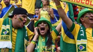 Frenetischer Jubel über Gruppensieg der Seleção