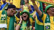 Jubel über Brasiliens Einzug ins Achtelfinale