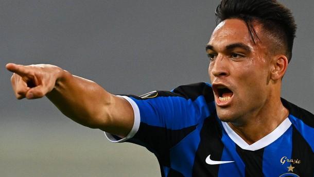 Inter Mailand mit einem Feuerwerk ins Finale