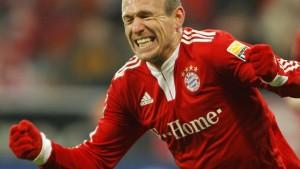 Robben rettet die Bayern