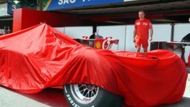 Schumacher mauert, Barrichello trauert