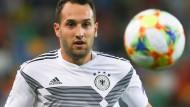 Wie ein Jungbrunnen: Levin Öztunali im DFB-Team der U-21-Junioren.