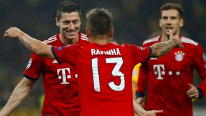 Den Bayern reichen drei Minuten