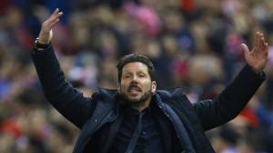Ballwurf-Eklat bei Atlético