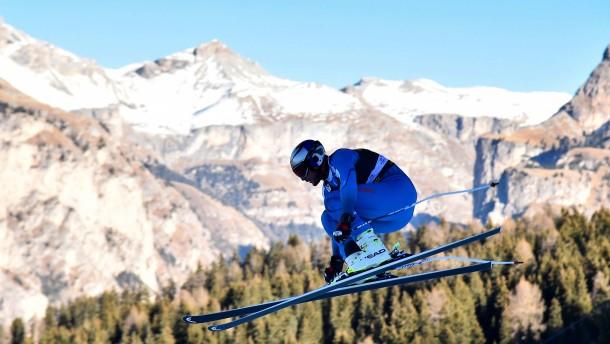 Der coole Ski-Wikinger