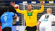 """""""Das ist ein zu großes Risiko für das Turnier"""": Torwart Johannes Bitter (Mitte) über die Corona-Infektionen bei Kap Verde"""