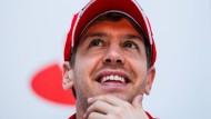 """""""Vom Mythos alleine können wir nicht leben"""": Sebastian Vettel ist für die Gegenwart und Zukunft Ferraris zuständig"""