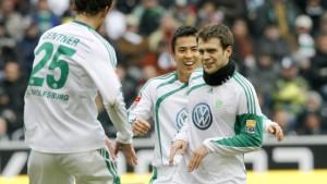 Wolfsburg wieder gut in Schuss