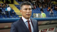 """Krassimir Balakow, umständlich formuliert, aber konsequent in der Ausführung: """"Ich sagte, dass, falls ich das Problem des bulgarischen Fußballs bin, ich keine Minute darüber nachdenken und meinen Rücktritt einreichen werde."""""""