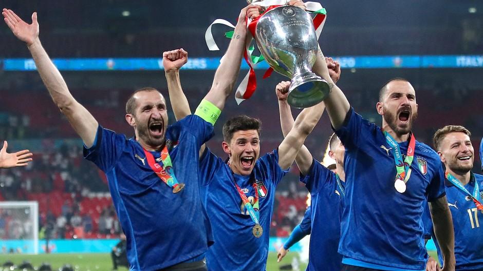Europameister Italien: Bald ein neuer Titel im Visier