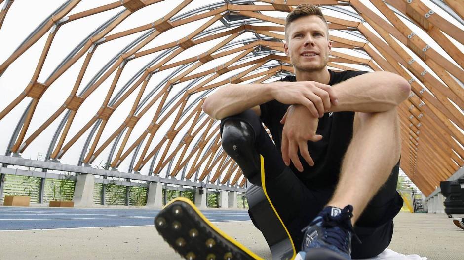 Prothesen-Weitspringer Markus Rehm darf nicht bei Olympia mitmachen.