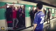 PSG-Fans lassen Terry am Bahnsteig stehen