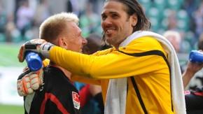 Ein besonderer Moment: der frühere Wolfsburger Torwart Jentzsch