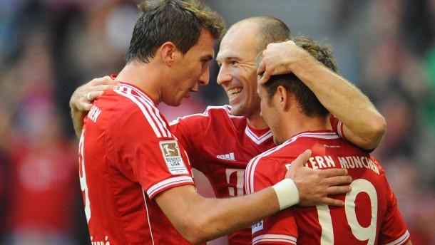 Bayern verliert - die erste Halbzeit