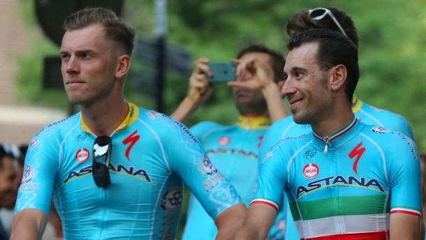 Skandal-Team Astana lässt Boom starten