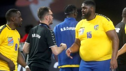 """""""El Gigante"""" Mvumbi verblüfft die Handball-Welt"""