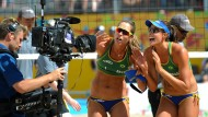 Premiumprodukt in der Nische: Beachvolleyball gehört zum Portfolio von sportdeutschland.tv