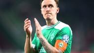 Applaus nach drei guten Jahren: Max Kruse verlässt Bremen