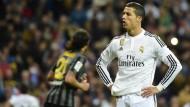 Real Madrid fürchtet das Aus