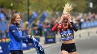 Amerikanerin gewinnt New York Marathon