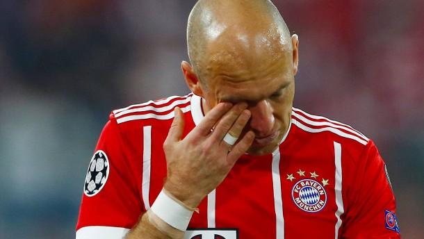 Robben fehlt den Bayern in Madrid