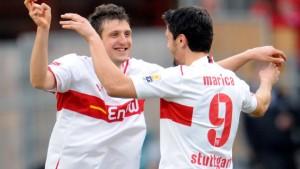 Stuttgart zeigt eine Reaktion auf Barcelona
