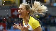 Das pure Glück: Kristin Gierisch gewinnt Gold
