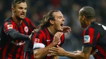 Immer wieder Meier: Zwei späte Tore retten der Eintracht einen Punkt