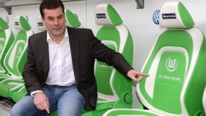 Grün ist die Farbe der Hoffnung: Hecking will in Wolfsburg einiges bewegen